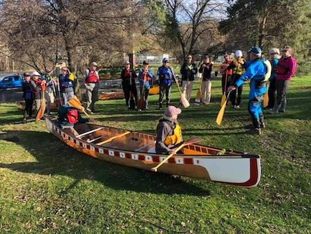 Canoe Lesson from a Qualified Instructor