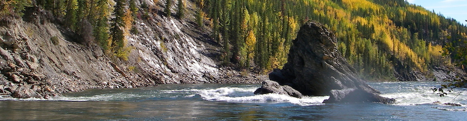 Old Man or Ragged Rock Finlay River